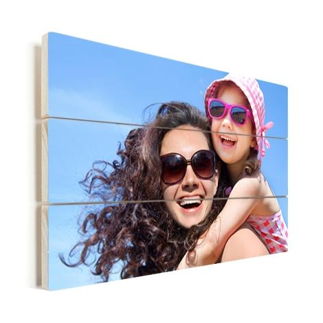 Foto op hout - 20 x 20 - 45% korting nu